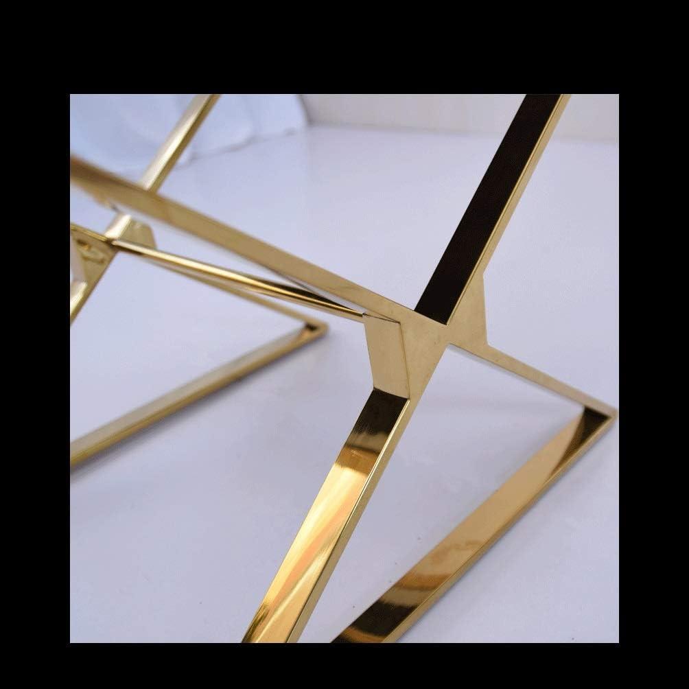 LRZS-Furniture Silla de Comedor de Lujo Ligera de Acero Inoxidable Modelo de cocodrilo Moda Silla de Mesa de Comedor Moderna y de Alto Grado Silla de Cuero de Restaurante Occidental de Alto Grado
