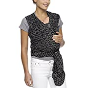 Moby Moby Wrap Classic, Black/White