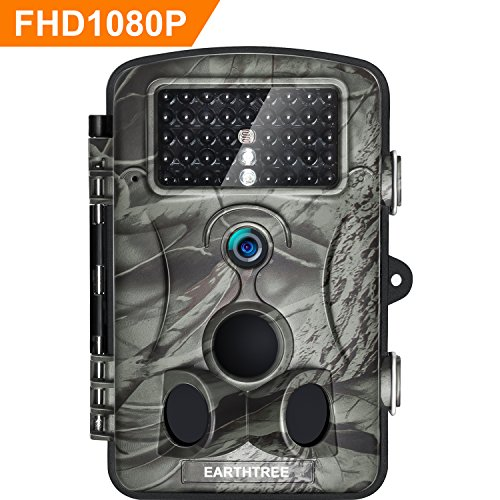 - EARTHTREE Trail Game Camera 12MP 1080P Deer Hunting Camera with 940nm IR LEDs,0.5s Trigger Speed,Night Vision Up to 65ft/20m,2.4'' Display,IP66 Water Resistance for Game & Home Security