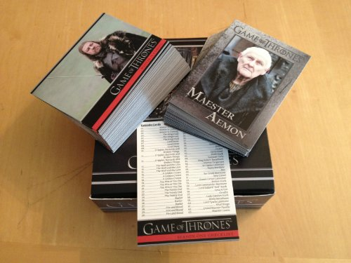 Game of Thrones Season 1 Complete 72 Card Set