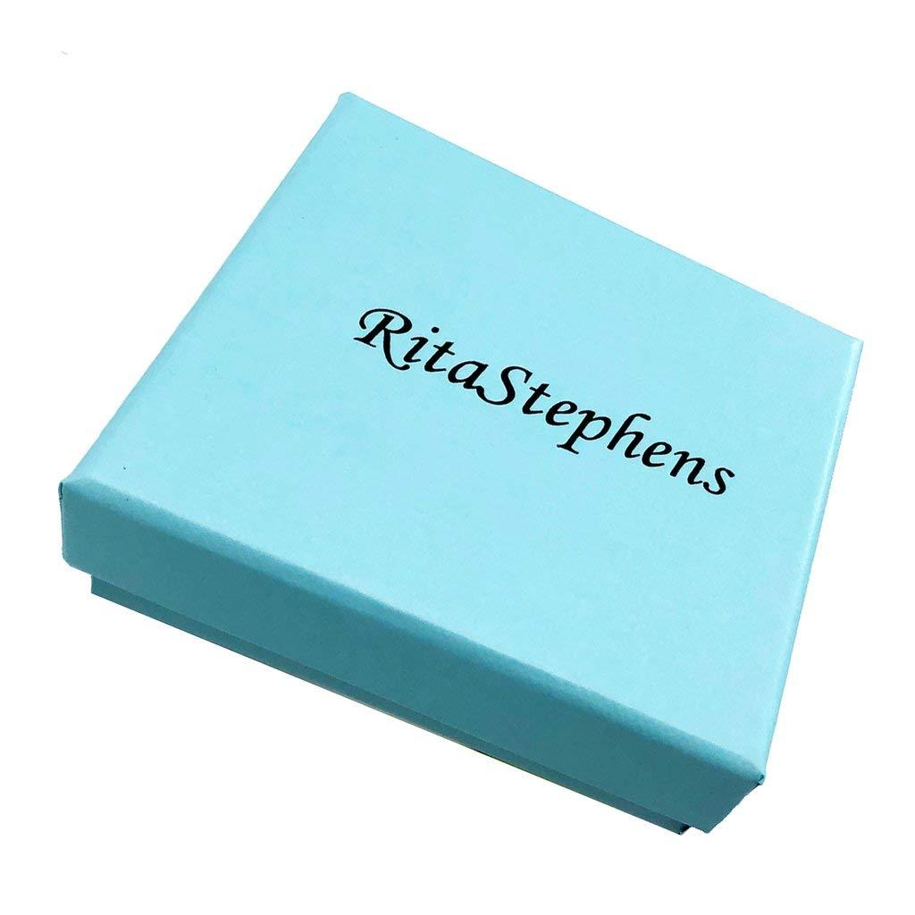 Ritastephens 14K Yellow Gold White Cubic Zirconia Girls Ring Small Band Size 3 by Ritastephens (Image #3)