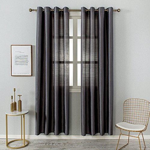 Grace Duet Sheer Curtains Airy Gauzy Window Treatments Panel