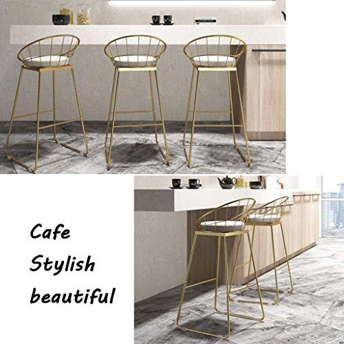 Barstol frukoststol pub barpallar   Restaurangbarstolar   Sätesstol   Frukost matstolar   kökspallar   kaffepallar   bänkstol (storlek: 42 x 44 x 65 cm)