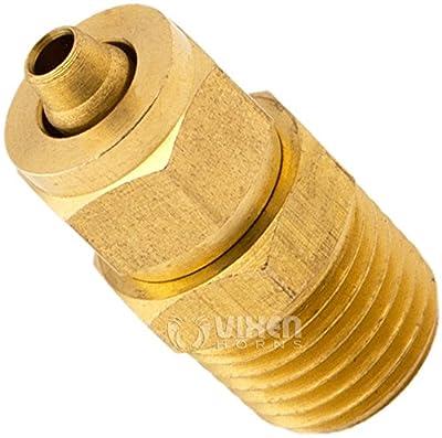 Vixen Horns VXA70141/4' NPT (Male) Compression Fitting for 1/4' NPT tubes