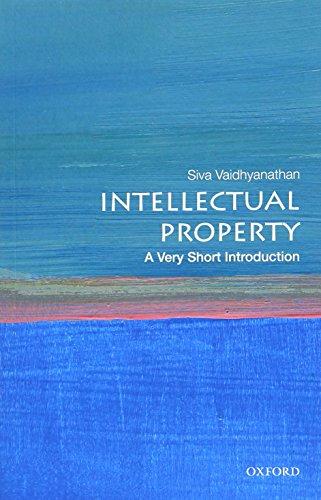 Pdf Law Intellectual Property: A Very Short Introduction (Very Short Introductions)