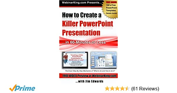 Amazon Powerpoint How To Create A Killer Power Point