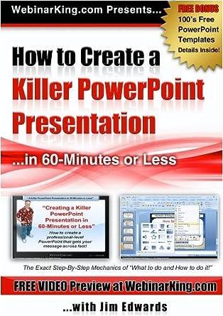 Amazon powerpoint how to create a killer power point powerpoint how to create a killer power point presentation in 60 minutes toneelgroepblik Gallery