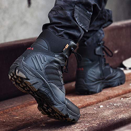 Bottes Antidérapantes Hautes Rosegal Sport Montantes Noir Chaudes Chaussures Hommes Homme Sécurité De Durables dFFzq
