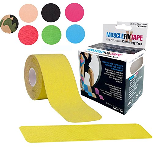 Yellow MUSCLE FIX Support Athletic Sport - Multi Cart Rock Shopping Results