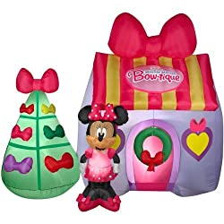 Disney Minnie Mouse Bow-tique Inflatable 7' Tall Airblown...