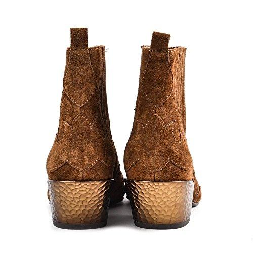 Ash Footwear Zapatos Ginger Bis Botines de Ante Russet Mujer Russet