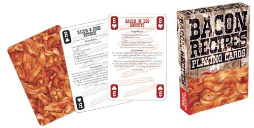 Aquarius Bacon Recipes Playing Cards