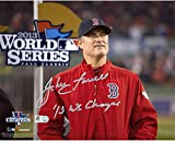 "John Farrell Boston Red Sox 2013 World Series Autographed 8"" x 10"" WS Win Photograph with 13 WS Champs Inscription - Fanatics Authentic Certified"