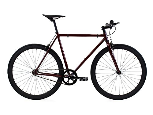 - Golden Cycles Single Speed Fixed Gear Bike with Front & Rear Brakes