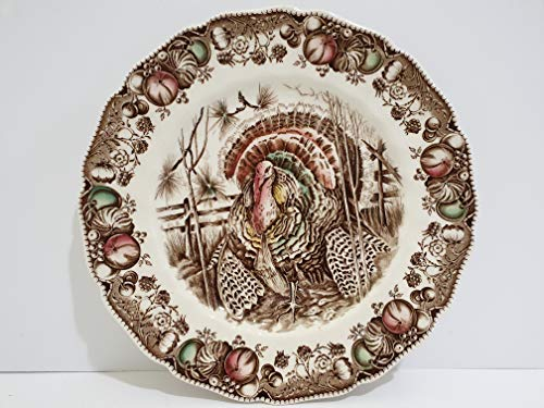 Johnson Brothers His Majesty Thanksgiving Turkey Dinner Plate