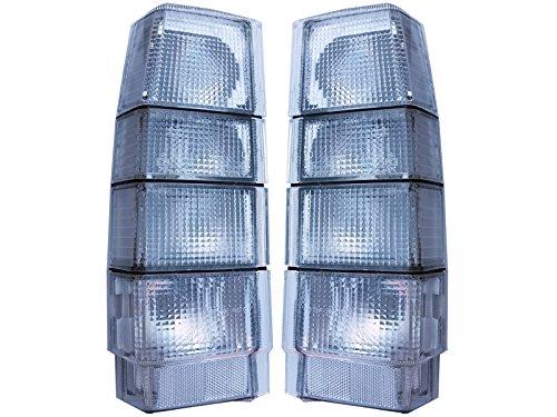 Volvo 740 940 960 All Clear Custom Tail Light Wagon Set New 3518908 (Volvo 740 Wagon)
