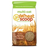 sWheat Scoop Multi-Cat All-Natural Clumping Cat Litter, 40lb Bag