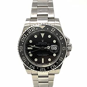 Rolex GMT Master II swiss-automatic mens Watch 116710 (Certified Pre-owned)