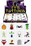 4 X 24 Halloween Tattoos / Transfers Trick or Treat Party Bag Fillers