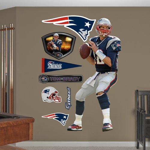 NFL New England Patriots Tom Brady Quarterback Wall Graphics