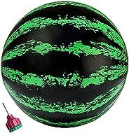 Beach Ball,Pool Watermelon Shape Balls, Inflatable Beach Ball,Pool Ball for Under Water Passing,Paddling Toys