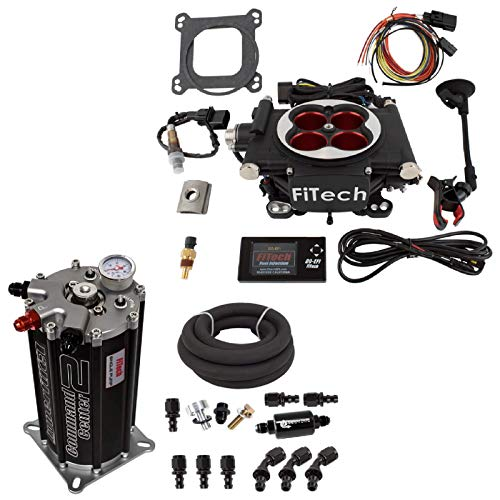 FI-TECH Fitech 30004/40004 Go EFI Power Adder 600HP System & Fuel Command Center 2.0 Module Sump