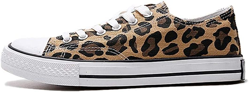 MAUGELY Men's Fashion Sneakers Leopard