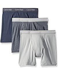 Men's Cotton Stretch 3 Pack Boxer Briefs