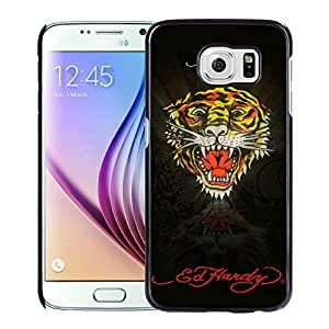 Unique And Luxurious Designed For Samsung Galaxy S6 Cover Case With Ed Hardy 17 Black Phone Case
