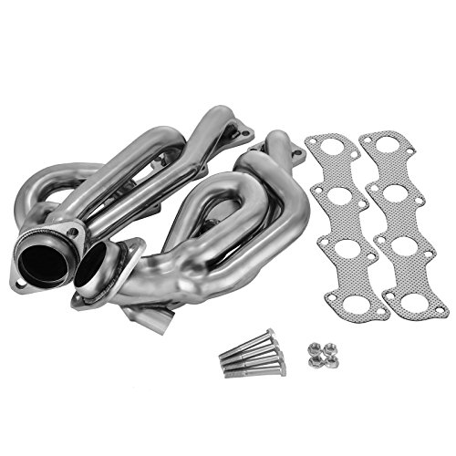 - Mophorn Exhaust Header Stainless Steel Manifold Exhaust Stainless Headers Fit for 97-03 Ford F150 5.4L Shorty F-150 Exhaust