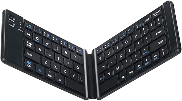 Stand Bluetooth Keyboard for Tablet Mini Bluetooth Keyboard Bluetooth Wired Dual Mode Charging Wireless Keyboard Mobile Phone Tablet Notebook Keyboard Dual Mode Keyboard Black
