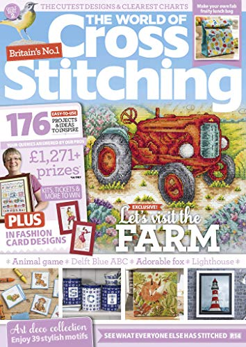 Best Price for The World of Cross Stitching Magazine Subscription
