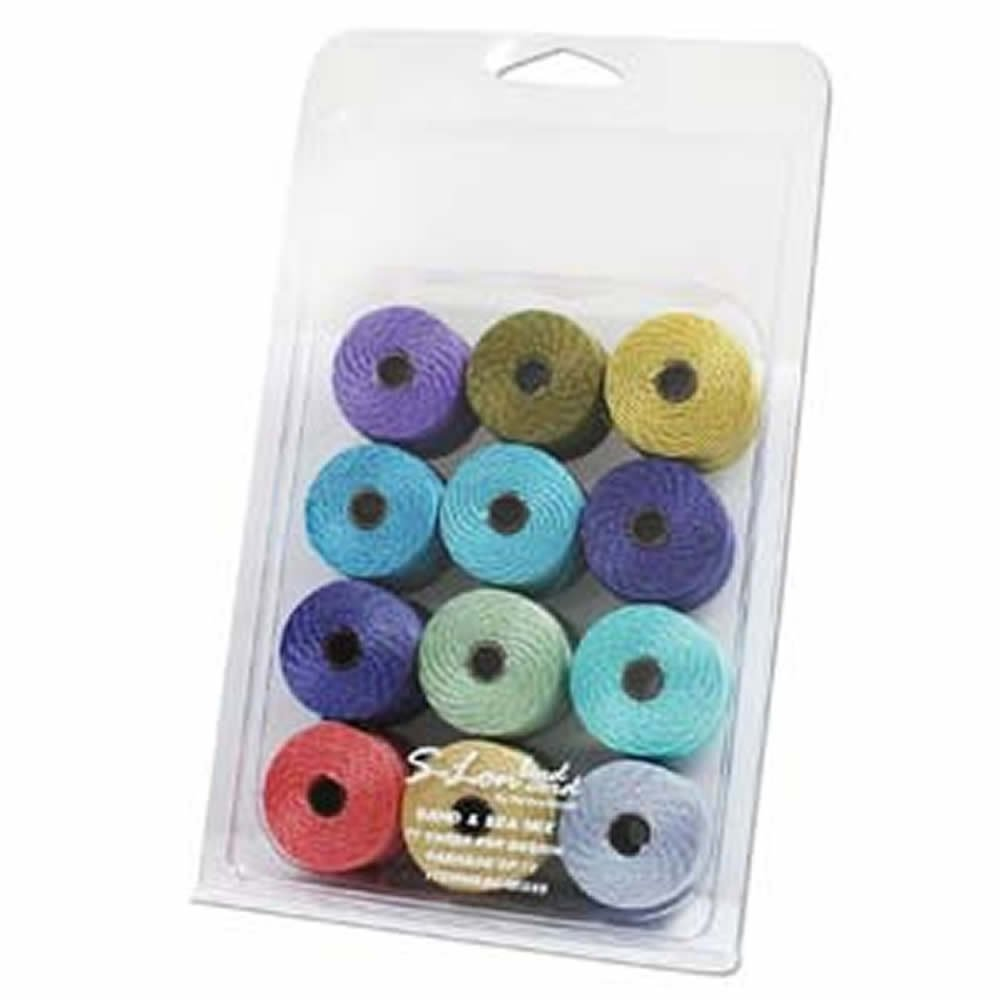 Beadsmith SLBC-MIX60 Jewelry Making, Multicolor by Beadsmith