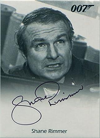 JAMES BOND 007 Archives Final edition  Autograph Card
