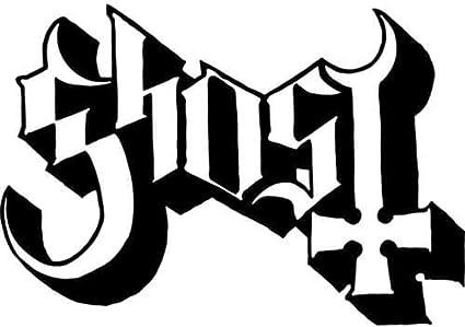 Ghost Band Sticker