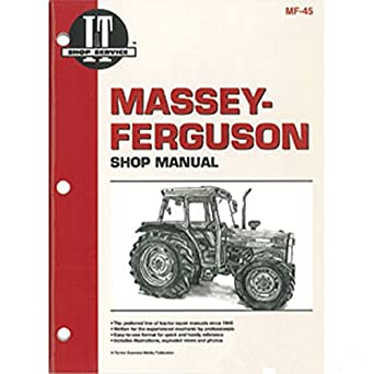 amazon com smmf45 new massey ferguson mf tractor shop manual 362 rh amazon com Case IH Logo Case IH Farmall 70