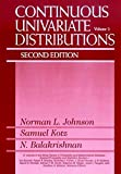 : Continuous Univariate Distributions, Vol. 2 (Wiley Series in Probability and Statistics)