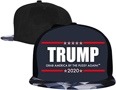 EUYK77 Trump 2020 3 Mens and Womens Trucker Hats Adjustable Hip Hop Flat-Mouthed Baseball Caps