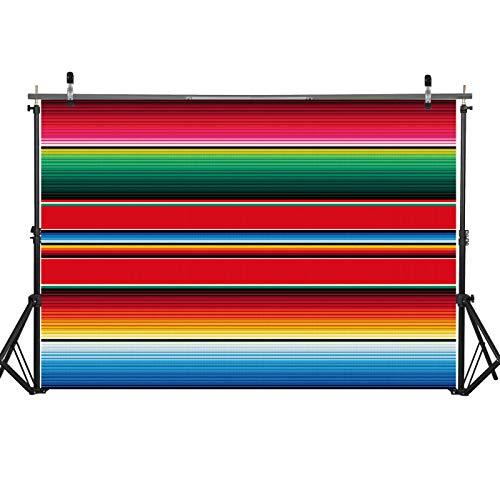 Fiesta Backdrop - Haboke 7x5ft Soft Wrinkle Free Fabric
