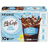 McCafe French Vanilla Brew Over Ice Coffee Keurig K Cup Pods (10 Count)