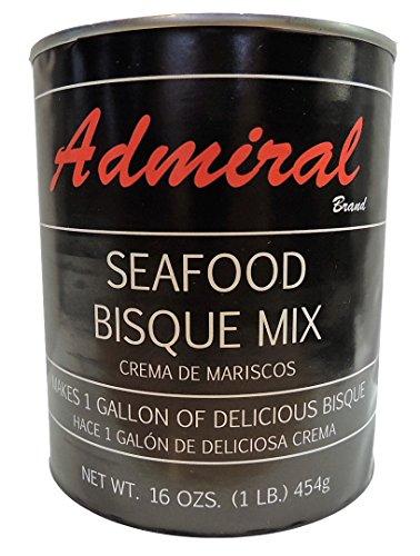 Lobster Soup Base - Admiral Seafood Bisque Base 16 Oz (3 Pack)