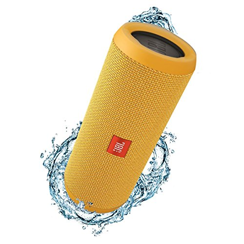 JBL Flip 3 Splashproof Portable Stereo Bluetooth Speaker (Yellow)