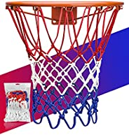 XXXYYY Basketball Net Replacement Heavy Duty, 2021 Professional On-Court Quality [6.88Ounce], Fits Outdoor Ind