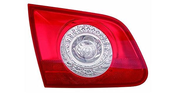 2X REAR TAIL LAMP LIGHT RED//WHITE INNER SECTION PART W//O BULB HOLDER LEFT+RIGHT
