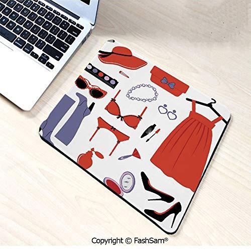 Desk Mat Mouse Pad Glamor Items for Women