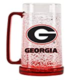 Duck House NCAA Georgia Bulldogs 16oz Crystal Freezer Mug