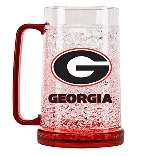 Duck House NCAA Georgia Bulldogs 16oz Crystal Freezer Mug - Georgia Bulldogs Ncaa Crystal