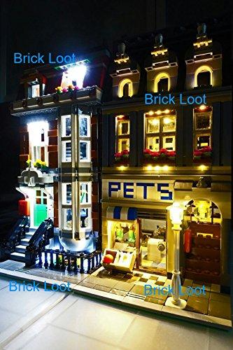 Pet Shop Lighting Kit for set 10218 set by Brick (Pet Shop Kit)