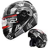 Motorcycle Helmet Adult DOT Modular...
