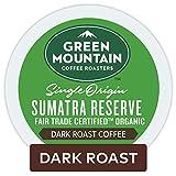 Green Mountain Coffee Roasters Sumatran Reserve Keurig Single-Serve K-Cup Pods, Dark Roast Coffee, 72 Count (6 Boxes of 12 Pods)
